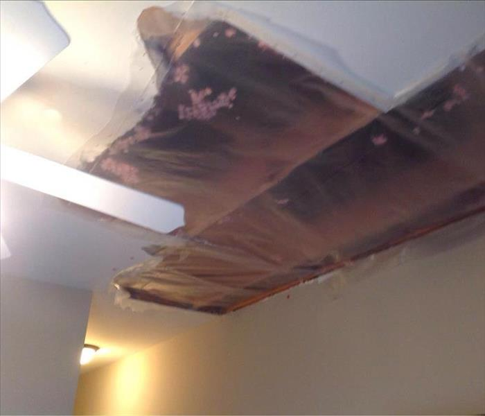 Stafford Ceiling Leak After